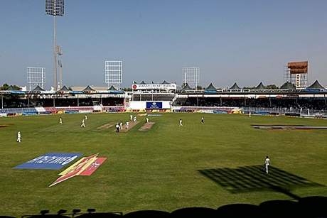 Sharjah Cricket Stadium. Courtesy The National